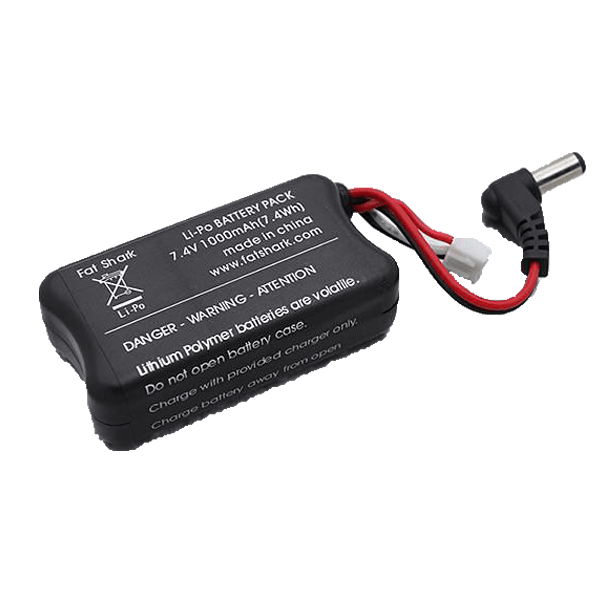 Fatshark FPV Headset 1000mah Battery