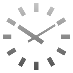 Techy Company Clock Icon
